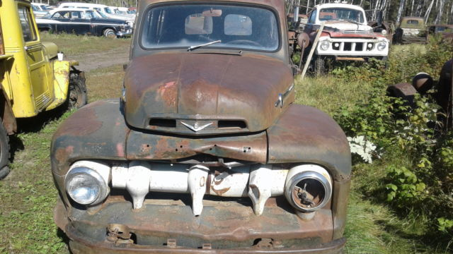 1951-ford-f1-panel-truck-complete-flat-head-v8-patina-rat-rod-f1-f100-no-reserve-5